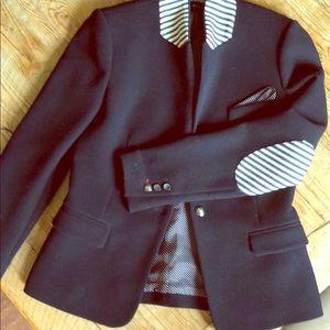 Zara Varsity blazer